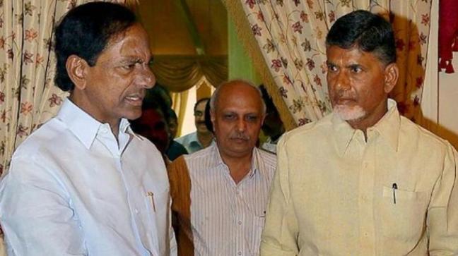 Andhra Pradesh Telangana Chandrababu Naidu Chandrasekhar Rao