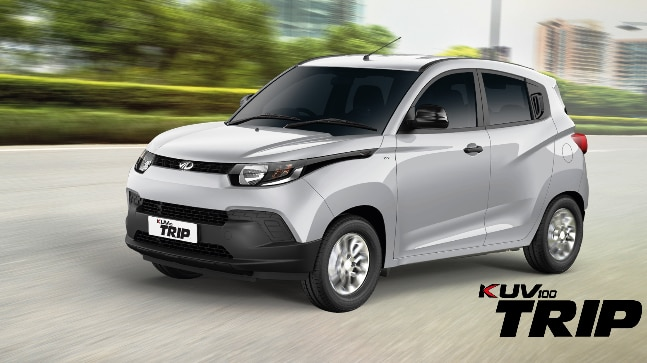 The KUV 100 Trip has been launched at a price of Rs Rs 5.16 lakhs for Bi-Fuel variant and Rs 5.42 lakhs for the diesel variant.