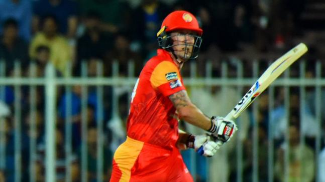 Luke Ronchi struck 71 of 37 balls (Photo Credit: Pakistan Super League Twitter)