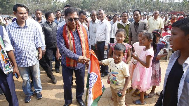 Conrad Sangma sworn-in as chief minister of India's Meghalaya state