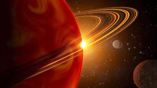 NASA, astronomers spot large amount of water in Saturn-sized, sun-like exoplanet's atmosphere