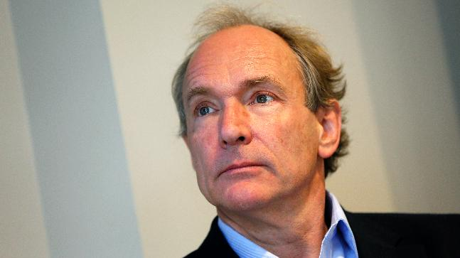 Sir Tim Berners-Lee stays committed to the World Wide Web
