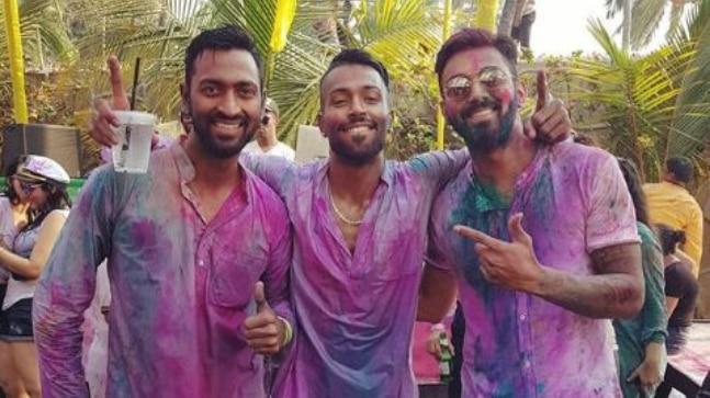 KL Rahul, Hardik Pandya and Krunal Pandya