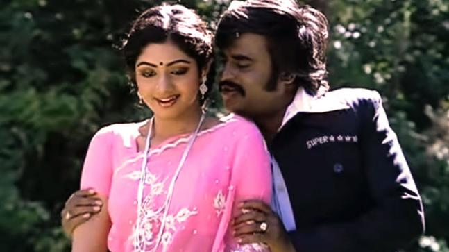 Sridevi and Rajinikanth