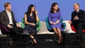 When Princes William, Harry, Kate Middleton and Meghan Markle sat down for a chat