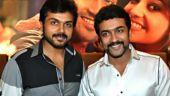 SEE: Suriya does pooja to kickstart brother Karthi's upcoming film with Rakul Preet Singh