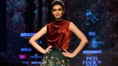 AIFW 2018: Diana Penty walks the ramp for designer duo Shyamal and Bhumika