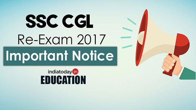SSC CGL Re-Exam 2017