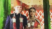 Shriya Saran weds Russian boyfriend Andrei Koscheev, and their vows are adorable. See pics