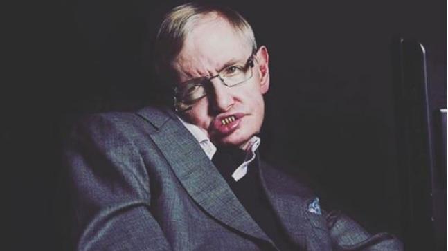 Rest in peace, Stephen Hawking.
