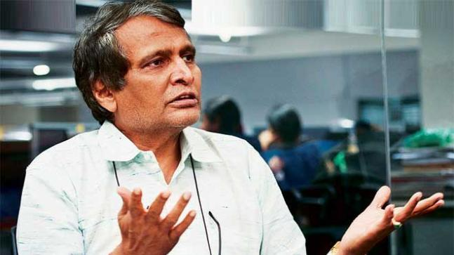 Suresh Prabhu to replace Gajapathi Raju, take charge as Aviation Minister
