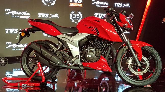 TVS Motors Launches Apache RTR 160 4V In India
