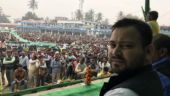 Tejashwi questions delay in arrest of Union Minister's son, who incited communal violence in Bhagalpur