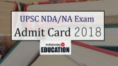 UPSC NDA/NA Exam Admit Card 2018 released at upsconline.nic.in: Steps to download