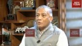 India Today Exclusive: Gen VK Singh denies allegations against govt, says Swaraj gave commitment to Parliament