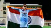 Vandana Katariya scored in the 48th minute for India (Photo tweeted by @VandanaHockey)