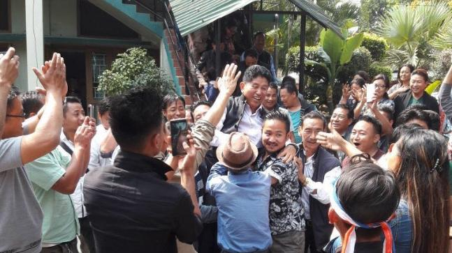 NDPP candidate CM Chang wins from Noksen constituency in Nagaland.