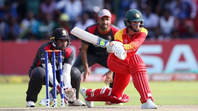 UAE beat Zimbabwe in thriller to all but eliminate hosts