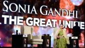 Sonia Gandhi at the India Today Conclave 2018