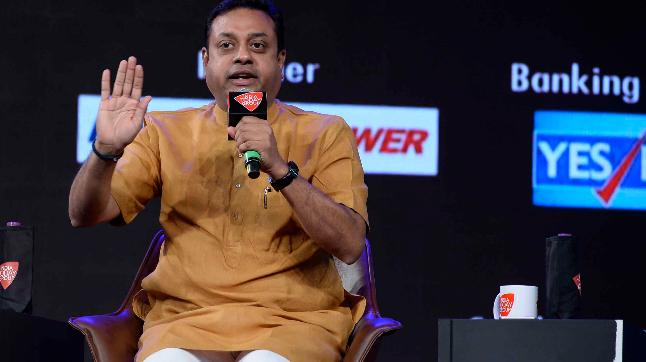 Sambit Patra at the India Today Conclave 2018
