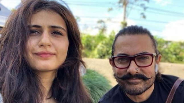 Aamir Khan and Fatima Sana Shaikh
