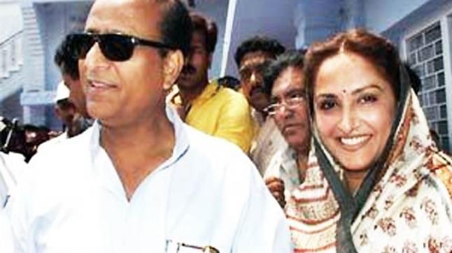 Azam Khan and Jaya Prada