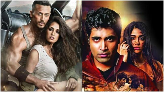 The poster of Baaghi 2 (L) and the poster of Kshanam