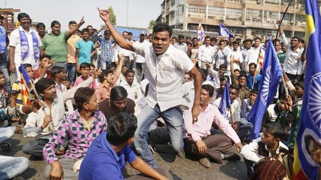Protests had erupted across Maharashtra after Bhima Koregaon violence on January 1. (Photo: PTI)