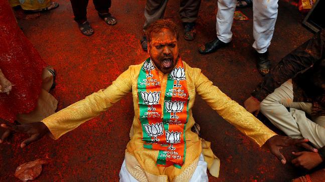 BJP surges ahead of CPM in Tripura