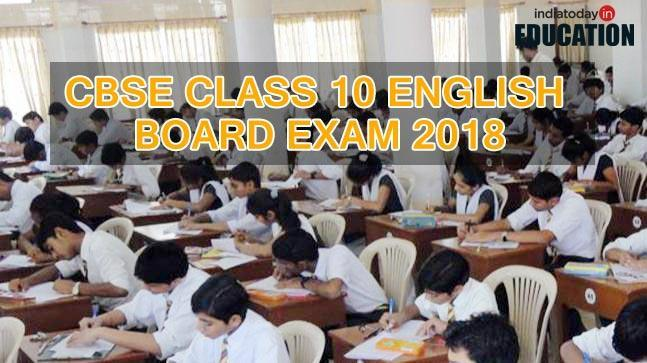 CBSE Class 10 English Board Exam 2018 tomorrow: Last minute