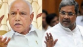 BS Yeddyurappa (left) and CM Siddaramaiah