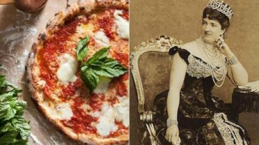 Margherita pizza; Margherita of Savoy