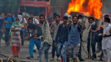 Violence in Panchkula (Photo-Reuters)