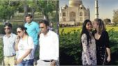 Gauri Khan and Suhana Khan spent the day at Taj Mahal, with their friends from London