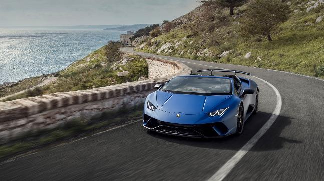 Lamborghini Unveils Hurancan Performante Spyder At Geneva Auto News