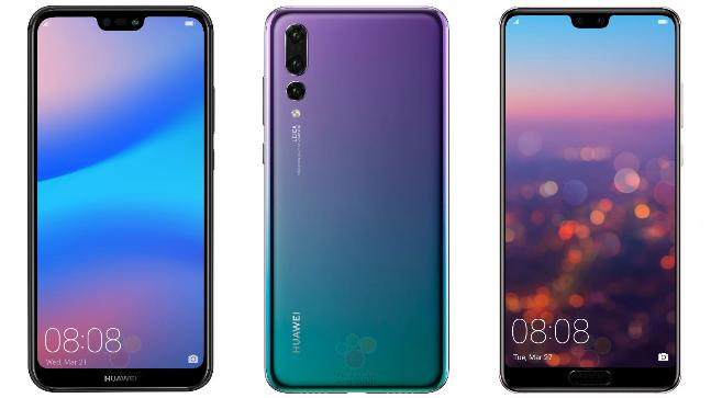 Huawei's P20 is a shiny, extravagant phone