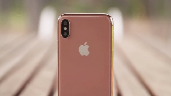 Apple is apparently working on a Blush Gold iPhone X
