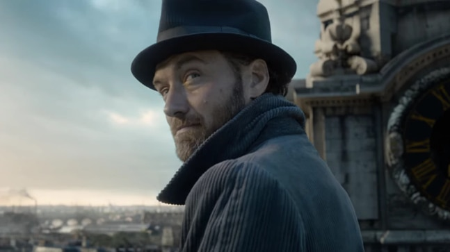 Jude Law in a still from Fantastic Beasts Crimes of Grindelwald