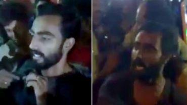 Kerala police manhandles citizen
