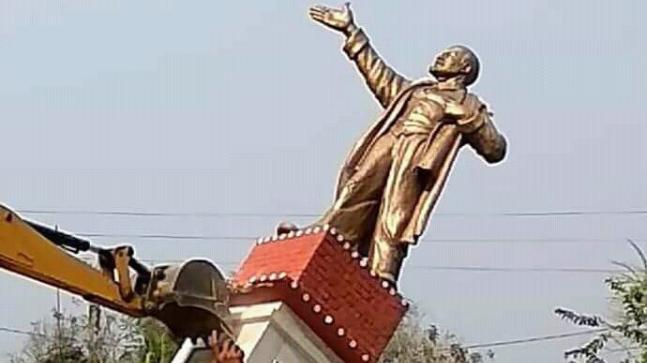 PM Modi, Amit Shah intervene as vandalism of statues continues