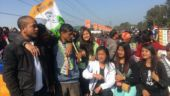 In Meghalaya, Congress is largest single party with 21 seats, but in a hung assembly