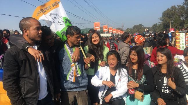 Congress emerged as the largest single party in the Meghalaya Assembly election.
