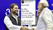 Rahul Gandhi trolls PM Modi over CBSE paper leak, tweets 'Chowkidar weak hai'