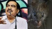 BJP leader Eknath Khadse alleges rodent scam in Maharashtra Assembly