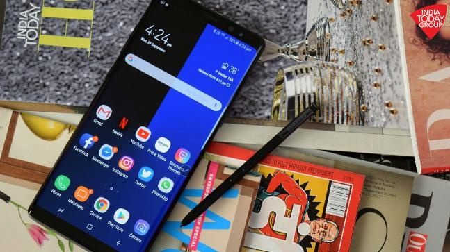 Samsung Galaxy Note 9 probably won't feature an in-screen fingerprint sensor