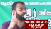 FIR lodged against sexist Kerala professor who compared women's breasts to watermelons