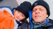 SEE: Shah Rukh Khan and AbRam are beating the summer heat in the snowy Alps