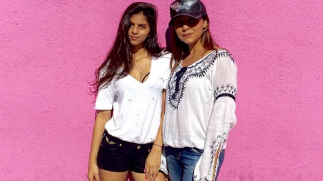 Suhana and Gauri Khan