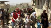 Exodus of Syrian rebels and civilians continue in eastern Ghouta, reports Syrian media