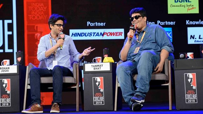 Rohan Joshi and Tanmay Bhat